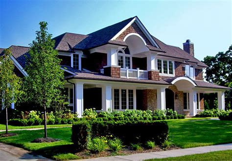 Home Exterior Design Michigan Front Elevations Traditional Exterior Detroit By