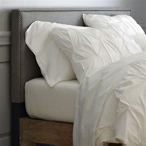 short headboards diy short nailhead upholstered headboard furniture diy