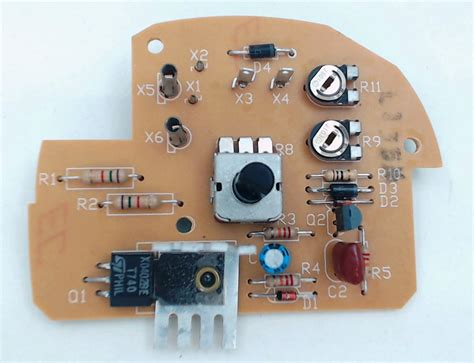 sunbeam stand mixer speed control board