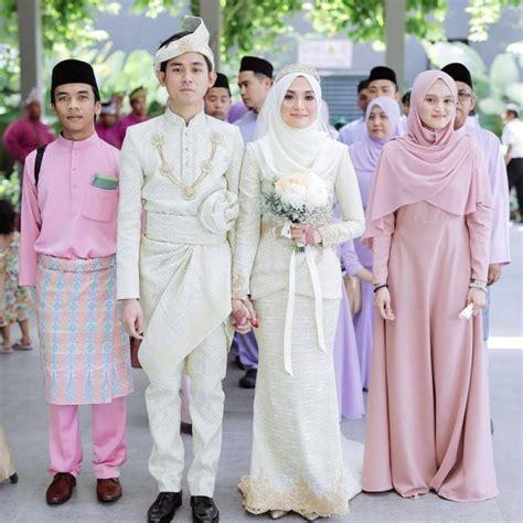 Pepatah Melayu Baju Putih 13 inspirasi gaun pengantin melayu untukmu yang berhijab sederhana sopan dan tetap menawan