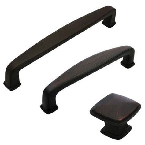rubbed bronze kitchen cabinet handles door hardware 117mm 180mm rubbed bronze zinc black cabinet hardware handles pull knobs set