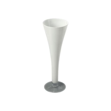 black flute vase 63cm catering equipment hire