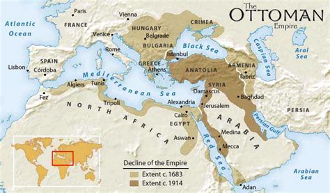 Maps 1 Middle East Ottoman Empire World