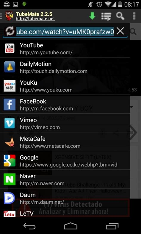 free download youtube software for android mobile tubemate downloader for android free download