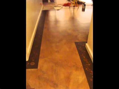 DIY Concrete Floor Painting Faux Finish YouTube   YouTube