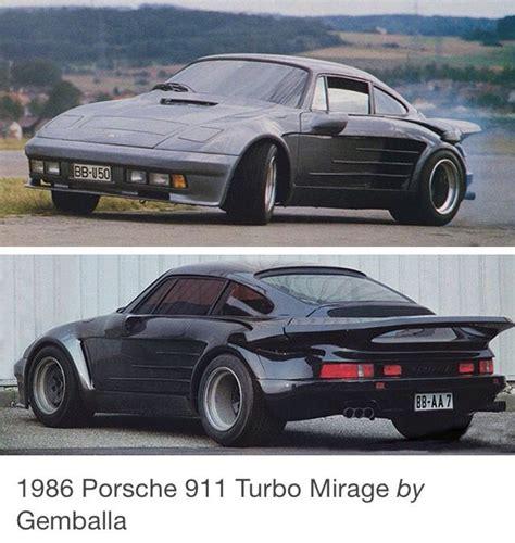 porsche gemballa 1986 1986 gemballa mirage porsche porsche 911