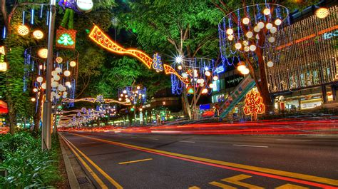 new year singapore attractions new year decorations on orchard road singapore