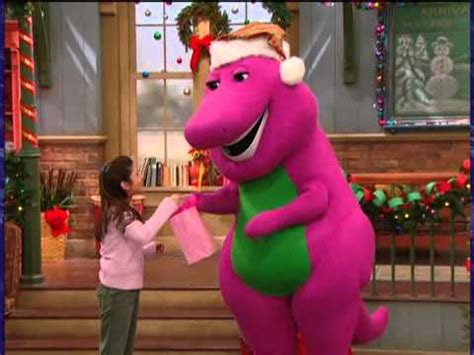 barney very merry christmas youtube