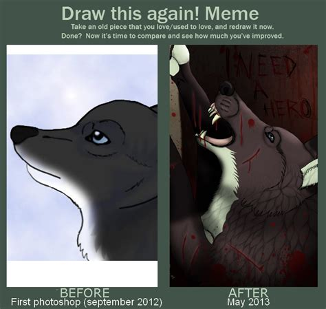 Meme And Neko - draw this again meme by neko systeme on deviantart