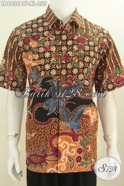 Nj 063 Atasan Hem Batik Pria kemeja trend sekarang newhairstylesformen2014