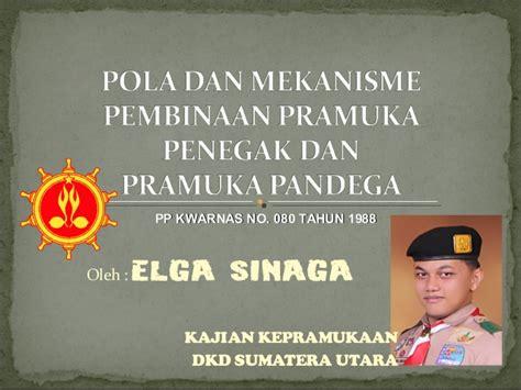 Sku Pramuka 1 polbin pramuka penegak dan pandega indonesia