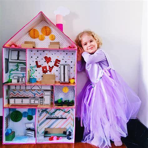 casa bambole fai da te come costruire una casa delle bambole fai da te in cartone