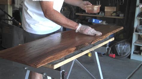natural wood coffee table youtube