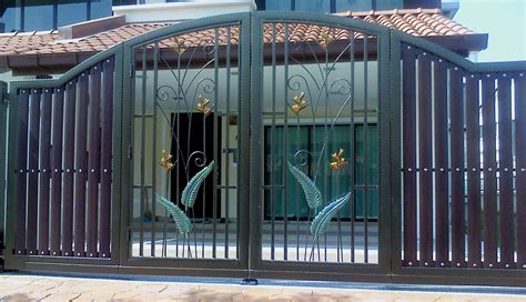 utama iron works sle picture wrought iron gate