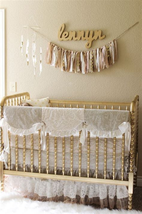 crib decorations 25 best ideas about gold nursery on pink gold