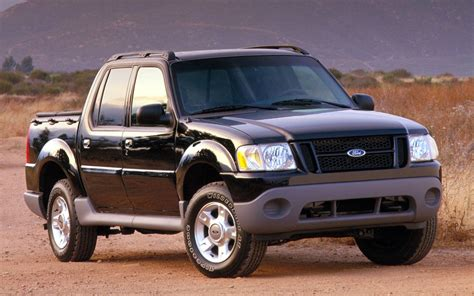 2001 ford sport trac 2000 2010 ford explorer sport trac timeline truck trend