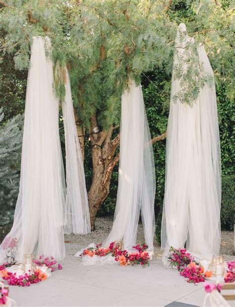 ideas for wedding backdrops best 25 outdoor wedding backdrops ideas on
