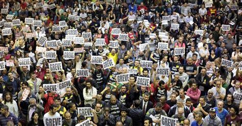 Brasil Hoy Hoy Huelga General En Brasil