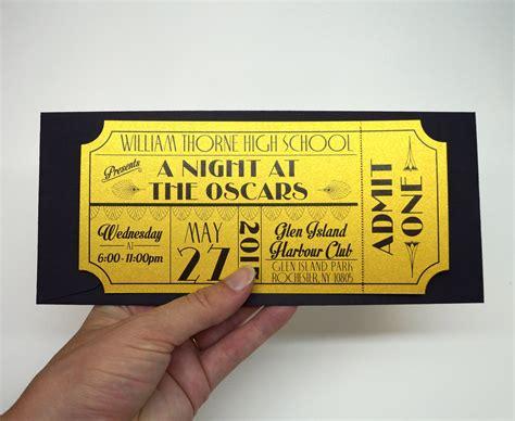 prom ticket template prom ticket template prom limo