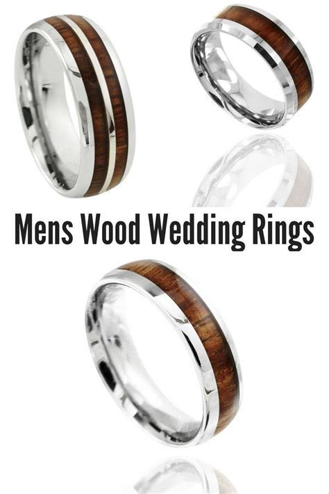 2019 Latest Durable Men's Wedding Bands