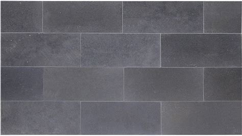 Bathroom Wall Tiles Design Honed Basalt Stone