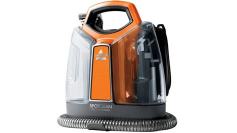 carpet and upholstery steam cleaner reviews bissell spotclean professional carpet and upholstery
