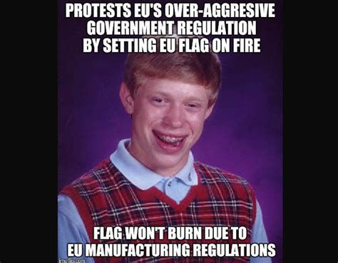 a funny meme about the eu regulations the funniest eu