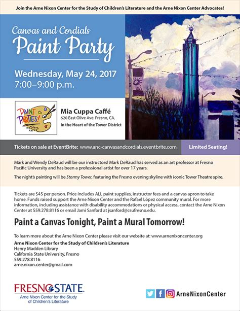 paint nite fresno fresno state cus news canvas and cordials paint