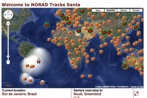 tracking santa on norad and wonderful facts stay at home