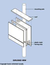 house plans unlimited 7 chamber nursery bat box pdf photo outdoor stuff pinterest bat box and bat