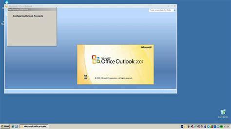 configure xp as web server configuring microsoft outlook 2007 to access an exchange