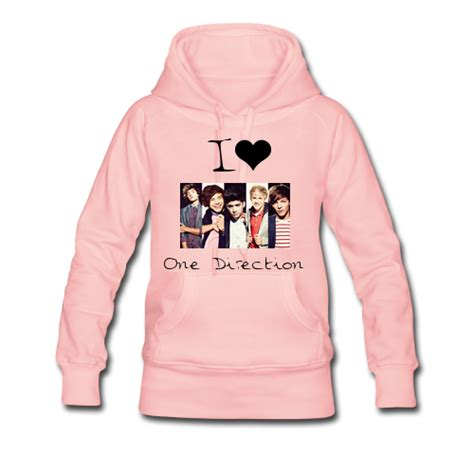 Hoodie One Derection 4 pink one direction hoodie on the hunt