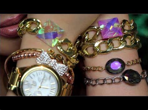 DIY Crystal Link Bracelets (Gift Idea) Inspired   YouTube