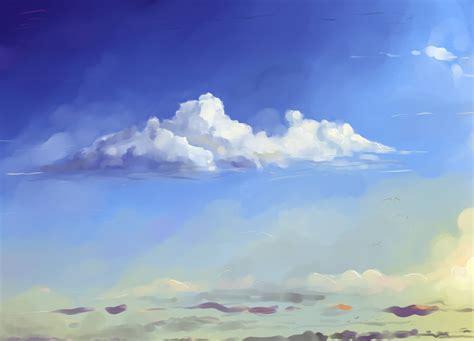 tutorial watercolor clouds clouds tutorial by hangmoon deviantart com on deviantart