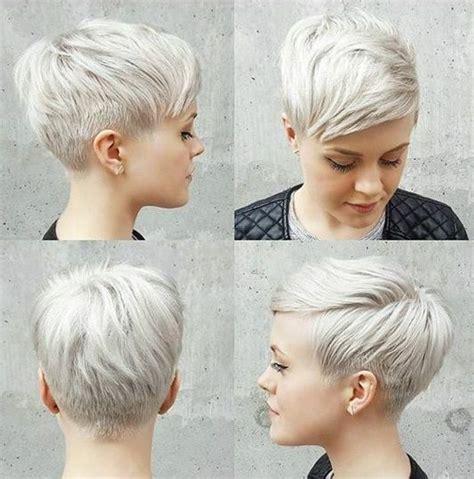 back views of gray hair styles wordt jij ook zo blij van korte kapsels in frisse blonde kleuren kapsels voor haar kapsels
