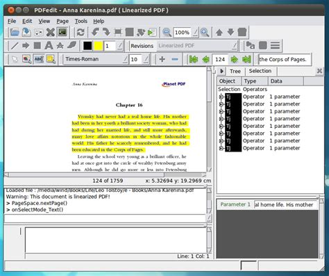 ubuntu layout editor pdfedit a powerful pdf editor for ubuntu linux