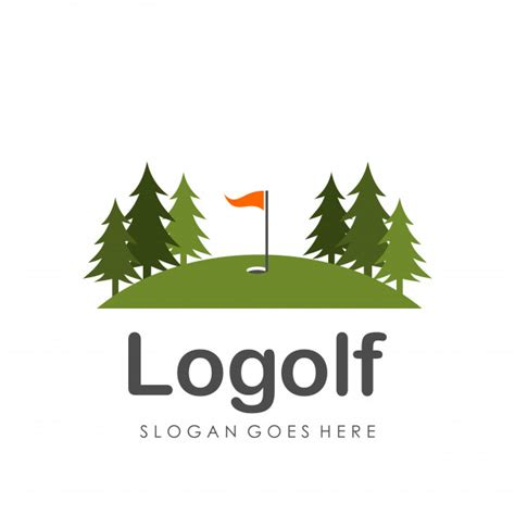 Golf Logo Design Template Vector Premium Download Golf Design Template