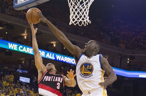 warriors trail blazers warriors vs trail blazers game 1 recap full highlights