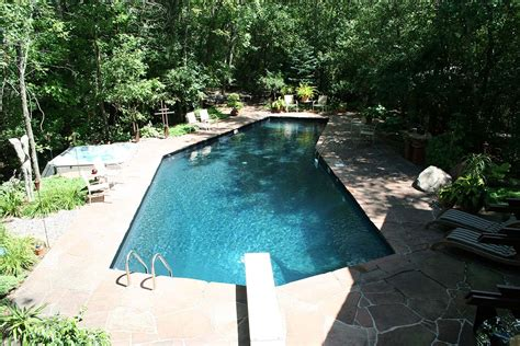 Frank Lloyd Wright Home Decor by Custom L Shaped Pool Swimming Pool Services