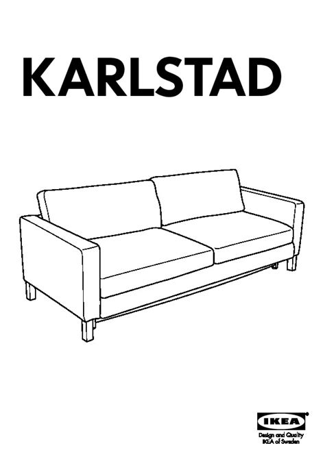 karlstad sofa instructions karlstad sofa bed instructions brokeasshome com