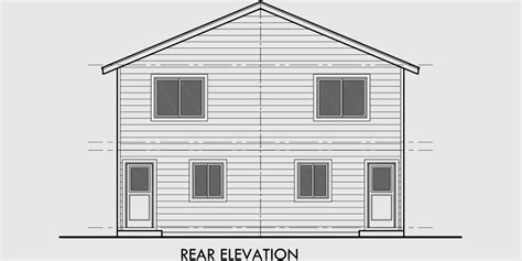 affordable two story house plans duplex house plan two story duplex house plan affordable d 549