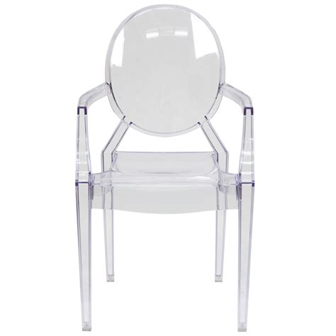 ghost chair rental nyc clear ghost chair with arms for rent in nyc partyrentals us