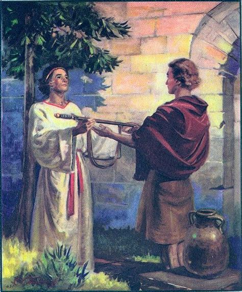 Garden Of Praise by Garden Of Praise David And Jonathan Bible Story