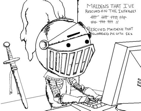 White Knight Meme - why are so many nerds white knights