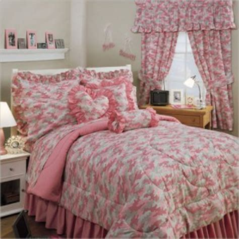 girls camo bedroom pink camo comforter bedding set for girls big slumber