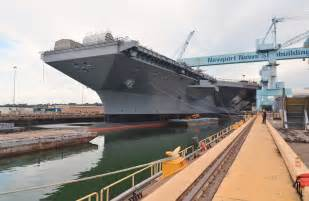 Gerald Ford Carrier Come Aboard Uss Gerald R Ford Cvn 78 The Newest