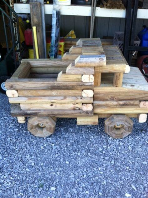 Landscape Timber Dump Truck 17 Best Images About Craft On Gardens Garden