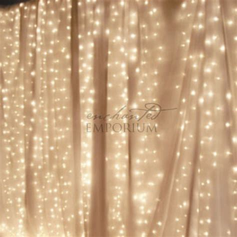 white curtain backdrop white curtain fairylight backdrop 3m hire enchanted