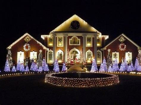 homes decorated for christmas outside outdoor lighting xmas ideas simple home decoration