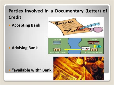 Documentary Letter Of Credit Advising Bank Documentary Credit Or Letter Of Credit
